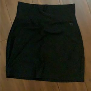 Black cotton pencil skirt from pink